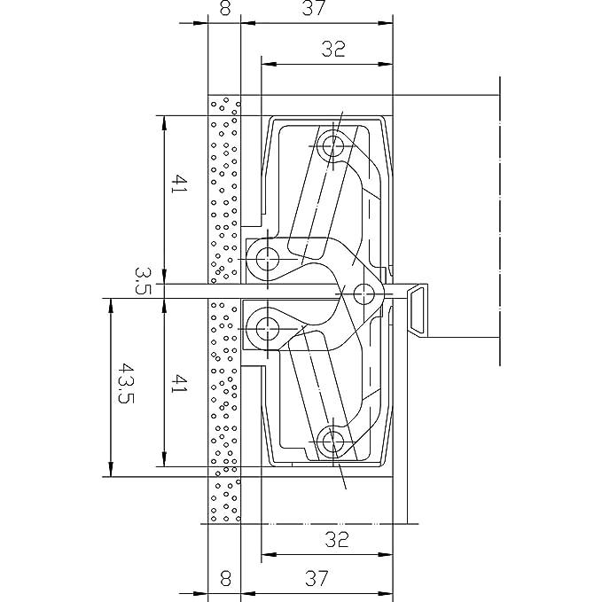 carb/ón Metal Descorazonador de brasas para cenicero 2-3cm greehome
