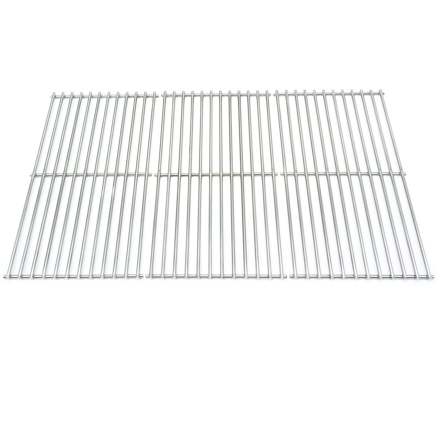 Direct Store Parts DS115 Solid Stainless Steel Cooking grids Replacement Brinkmann,Charmglow,Costco, Jenn Air,Members Mark, Nexgrill, Perfect Flame,SAMS Club Gas Grill by Direct Store