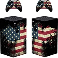 Whole Body Protective Vinyl Skin Decal Cover for Microsoft Xbox Series X Console Wrap Sticker Skins with Two Free…