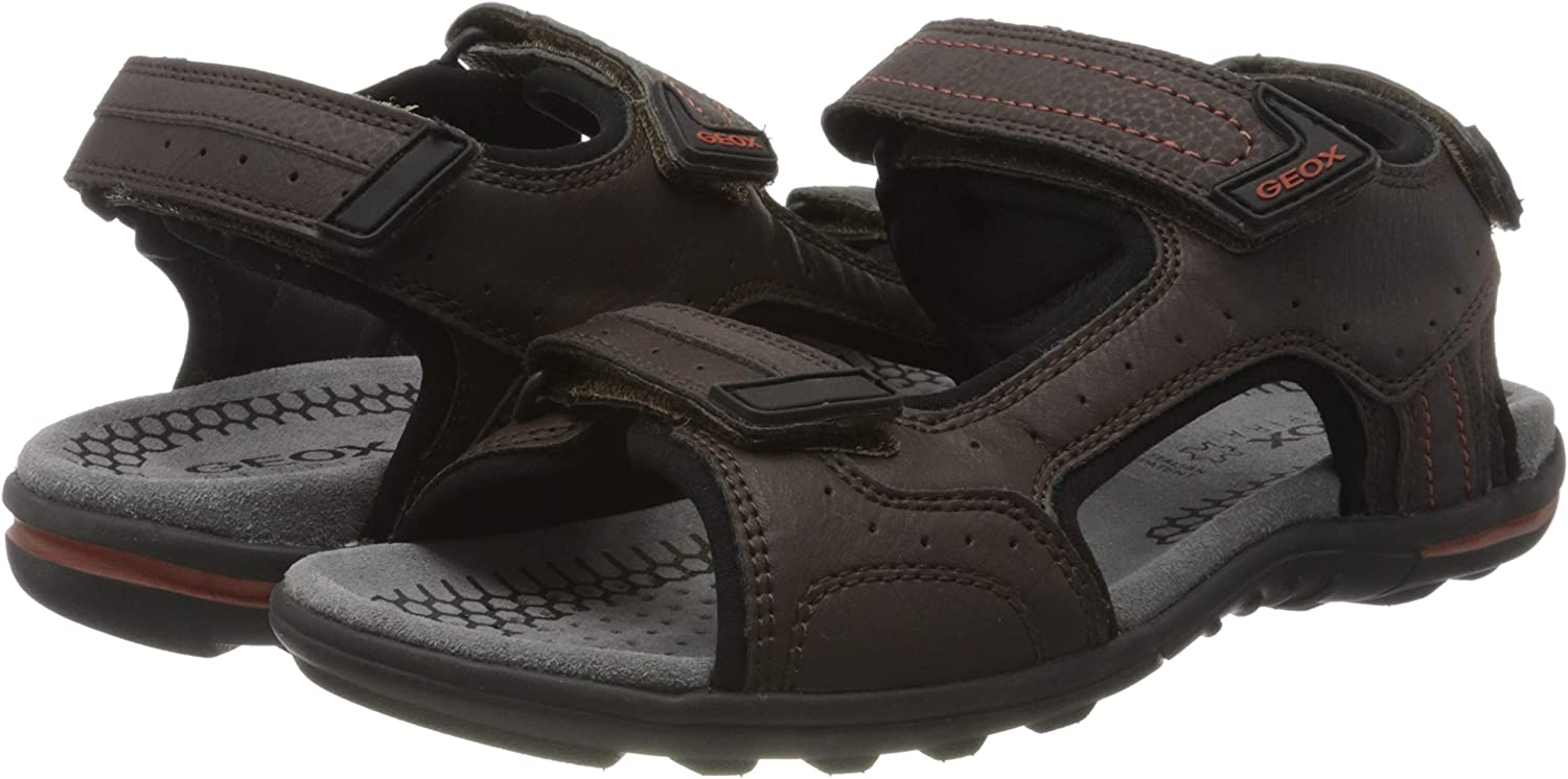 Sandales Bout Ouvert Homme Geox U Tevere A