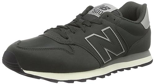 new balance 500 herren sneaker schwarz gm500rm
