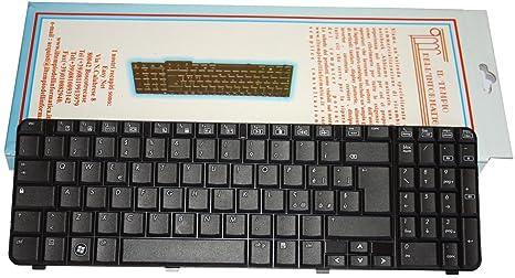 Teclado para ordenador portátil HP G61 – 300 Layout italiano negro