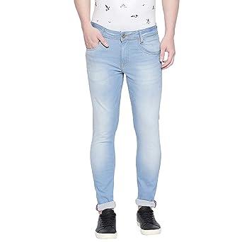 Mufti Core Blue Light Super Slim Light Washed Classic Jeans