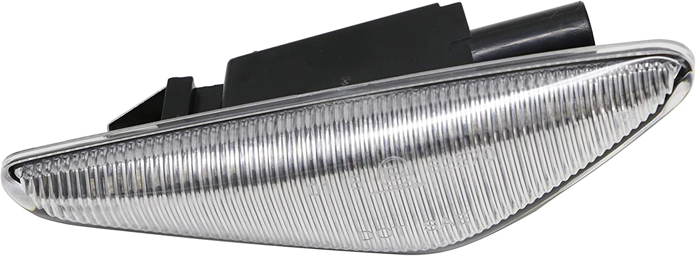 2 x LED Turn Signal Lights Side Lamps Clear Lens Replacement E70 X5 E71 E72 X6 F25 X3 E4 MOT T/ÜV ITV