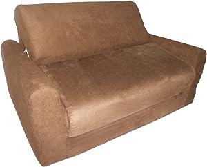 Fun Furnishings Sofa Sleeper, Brown