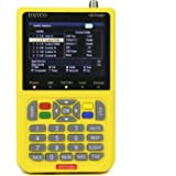 "V8 Satellite Finder Digital TV Finder Meter with 3.5"" LCD Display/Built-in 3000mAh Battery DVB-S/S2 HD FTA Satellite TV Receiver"