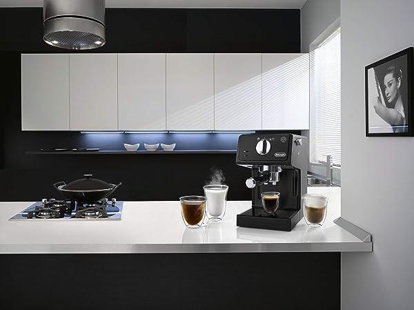 Espressomaschine unter 200 Euro: De'Longhi ECP31.21 mit dem Cappuccino-System