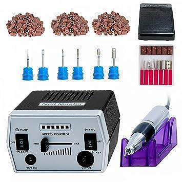 7bb382b68d3 Professional Acrylics Gel Nail Salon Art Tool Electric Nail Drill Machine  Kit