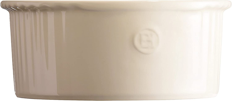 21 cm Emile Henry EH956880 Moule /à Souffl/é C/éramique 5 x 10 cm 23 x 21 Gris Silex