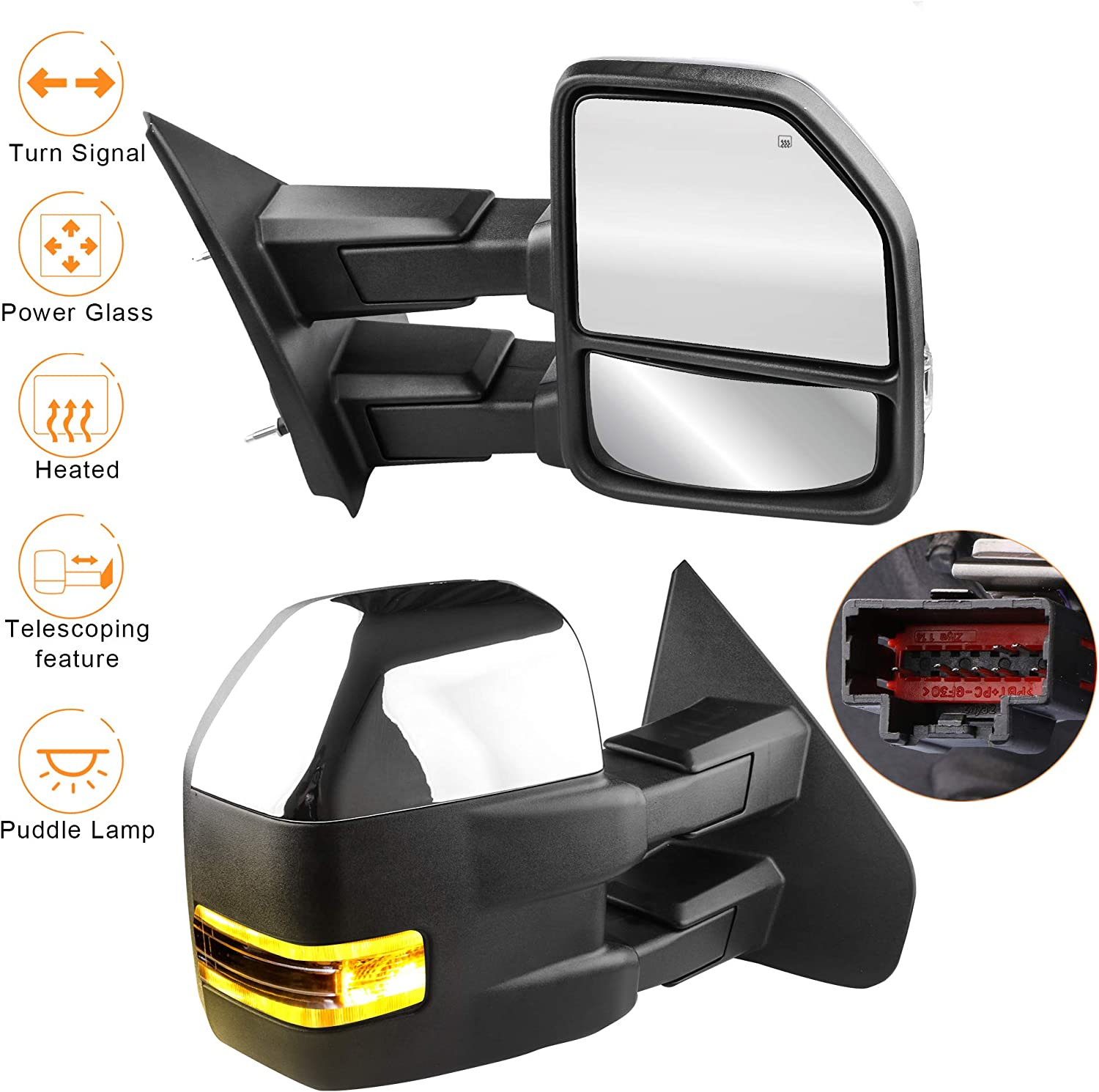 For Ford Towing Mirrors SCITOO Exterior Accessories Mirrors for ...