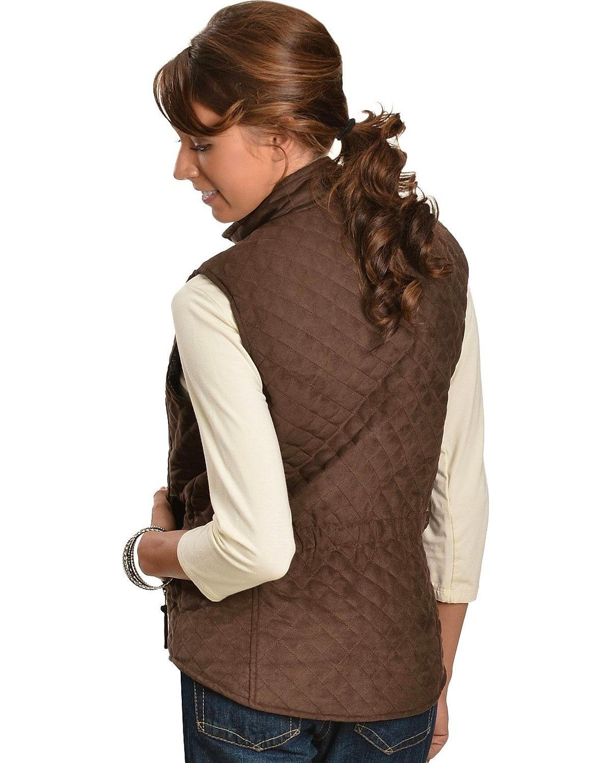 STOCK 2000213114 Outback Trading Grand Prix Quilted Vest OUTBACK TRADING CO