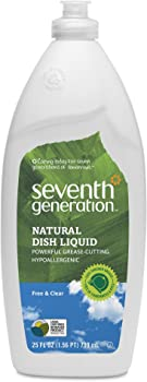 6-Pack Seventh Generation Dish Liquid