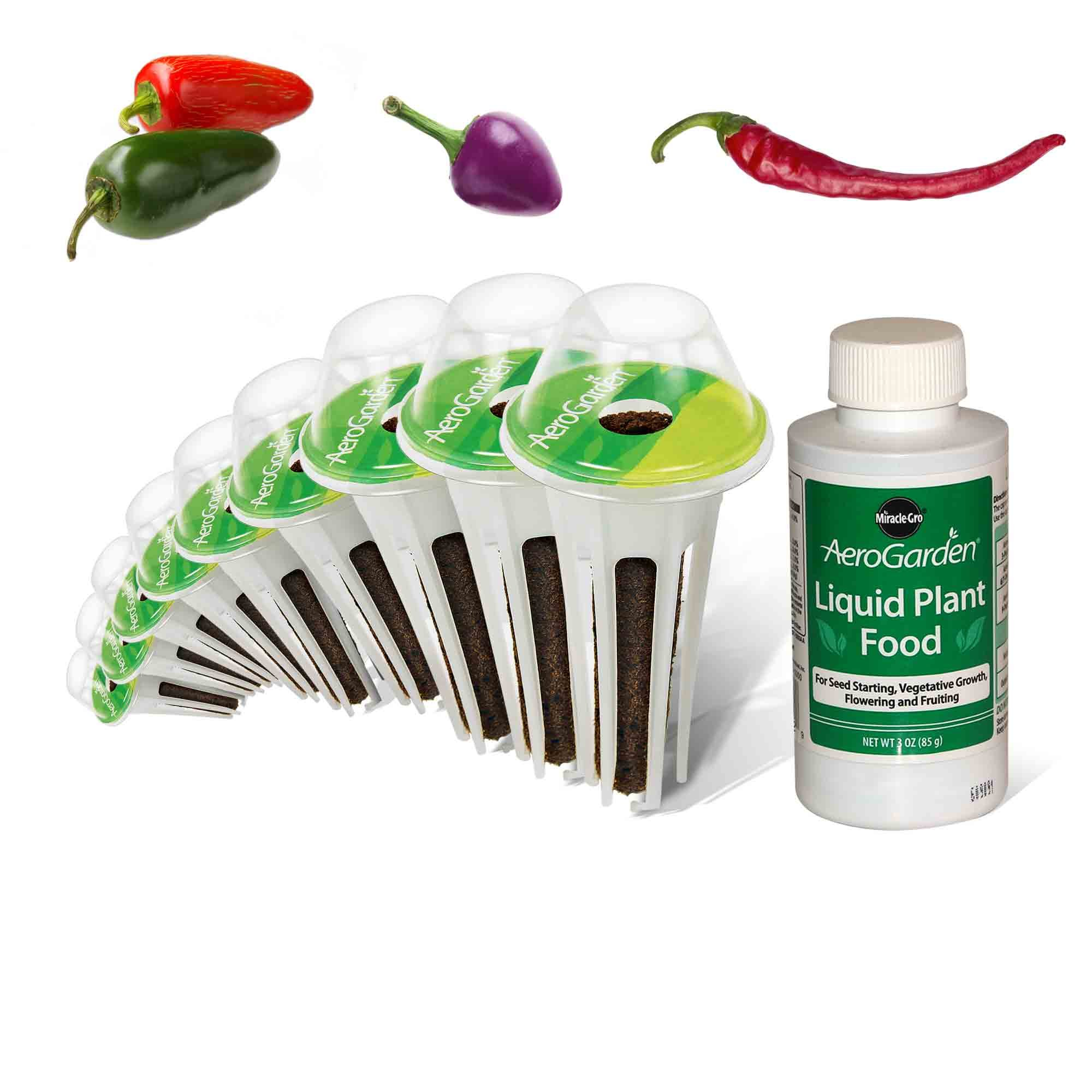 AeroGarden Spicy Chili Pepper Variety Seed Pod Kit by AeroGarden