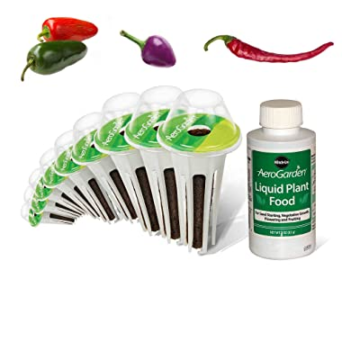 AeroGarden Spicy Chili Pepper Variety Seed Pod Kit
