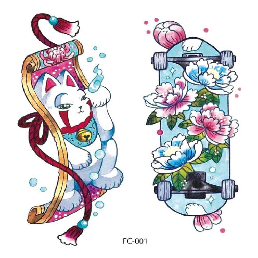 Protección del medio ambiente pegatinas de tatuaje realistas ...