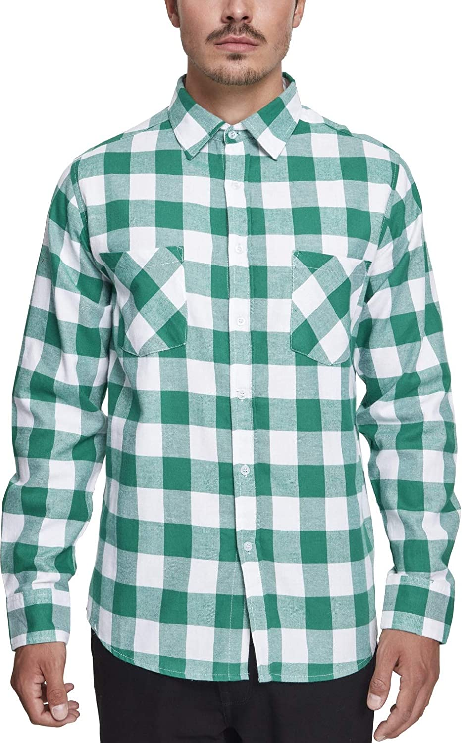 Urban Classics Checked Flanell Shirt Camisa Casual para Hombre