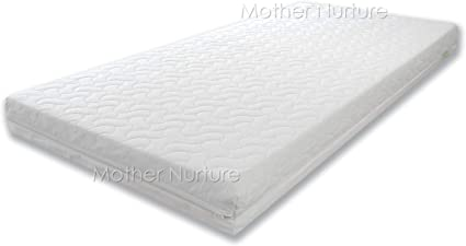 Breathable Baby Cot Bed Mattress Quilted Extra Thick Depth Fits Mothercare and Mamas /& Papas Sizes 140 X 70 X 10CM