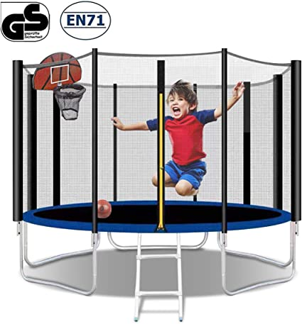 Poncho 12FT Trampoline with Hoop