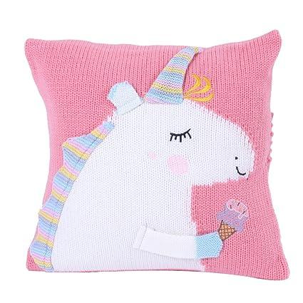 Kenmont Unicornio Arrojar la Almohada Cojín para sofá ...