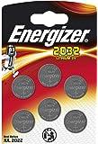 Energizer Pack of 6 3 Volt Lithium CR2032 Batteries