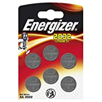 Pack of 6 Energizer 3 Volt Lithium CR2032 Batteries