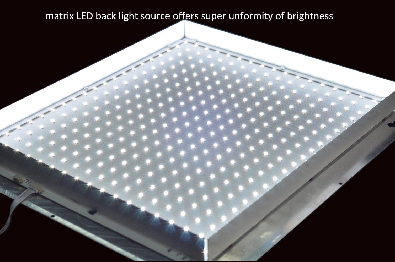 LED X-Ray Film Viewer Negatoscope Xray View Box illuminator Medical Film Viewer (Double Bank) by Medplan (Image #7)