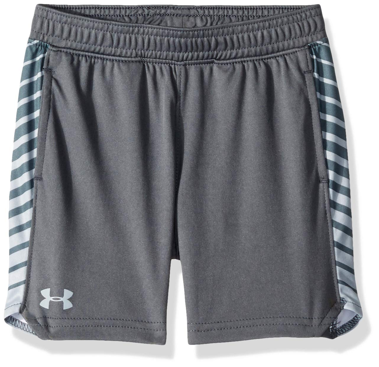 Under Armour Boys' Little Select Short, Dark Gray-S192, 6