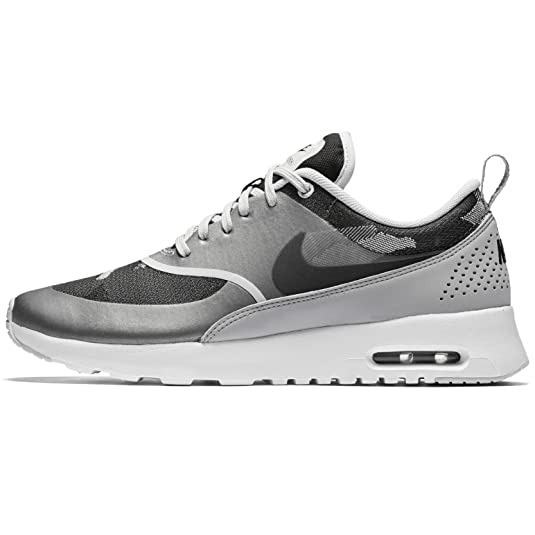 Amazon.com | Nike Air Max Thea Jacquard Women's Shoes, Pure Platinum/Black-Wolf  Grey, 7 | Fitness & Cross-Training