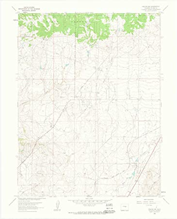 Nw Colorado Map.Amazon Com Yellowmaps Falcon Nw Co Topo Map 1 24000 Scale 7 5 X