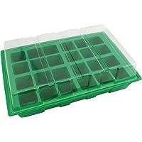 BIOTOP Kit semillero de plástico de 24 macetas