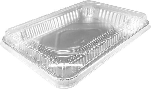 congelar y almacenar bandejas de aluminio para horno Sartenes de aluminio desechables redondos 30 unidades Molde para pasteles desechables y bandejas de aluminio para hornear