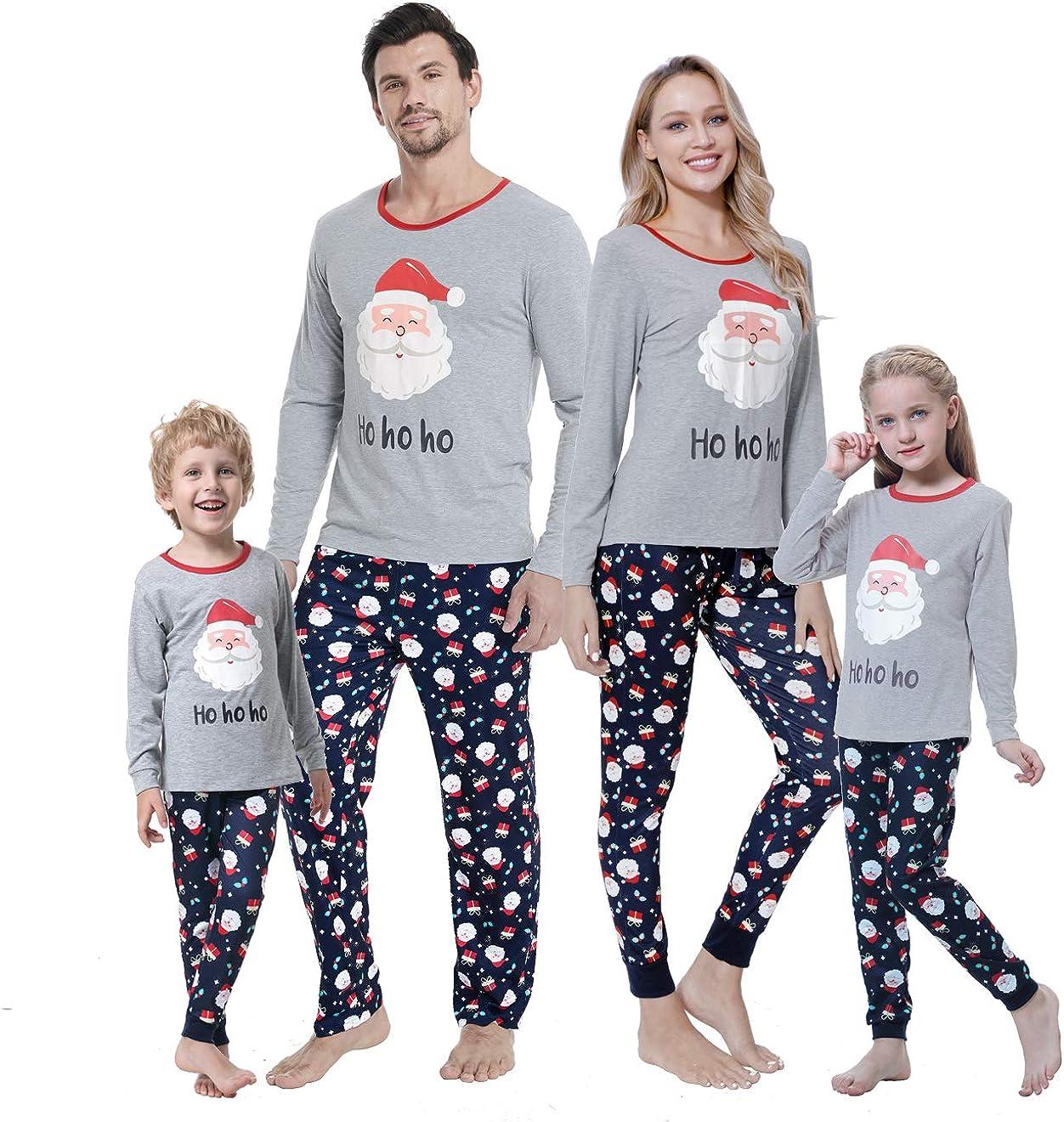 Tianbi Conjunto de Pijamas de Navidad Familiar Conjunto de Pijamas a Juego de La Familia de Navidad de Hadas Ropa de Dormir para Ni/ños Adultos Ropa de Dormir Accesorios de Fotograf/ía