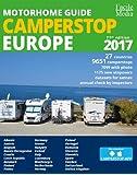 Motorhome guide Camperstop Europe 27 countries. 2017 GPS