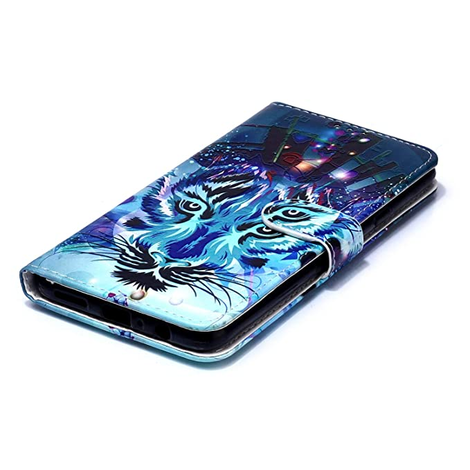 Funda Compatible con Samsung Galaxy A20S.KunyFond Cuero Case ...