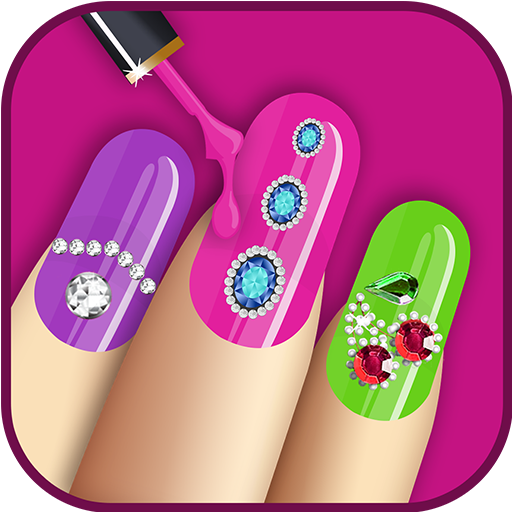 Nail Salon For Girls (Girls Clipart Of)