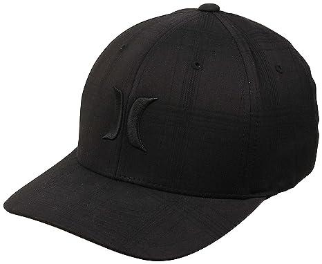 a27c26b1c8adb Amazon.com  Hurley MHA0007170 Men s Black Suits Hat  Clothing
