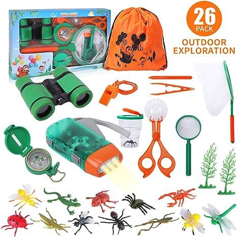 Lehoo Castle Kit de Explorador para Niños, Set de Juguetes al Aire ...