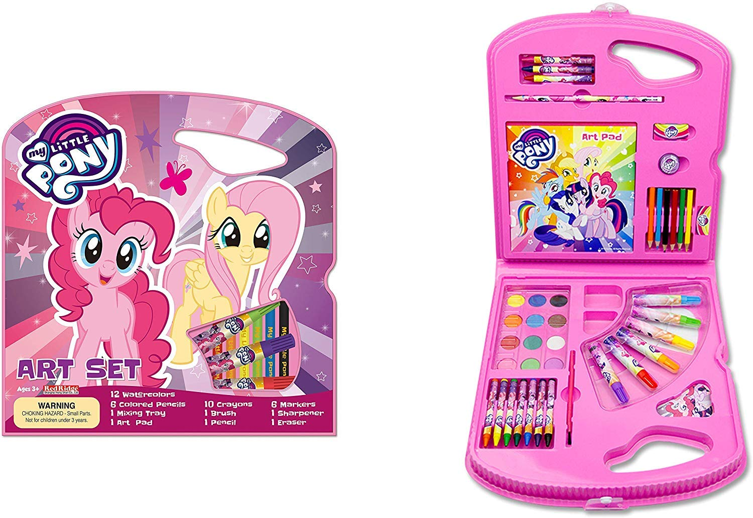 My Little Pony pack 12 mini erasers