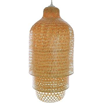 Wohnzimmerlampe Hai Phong Lampe Aus Bambus Als Hngelampe Pendelleuchte Fr Wohnzimmer Schlafzimmer