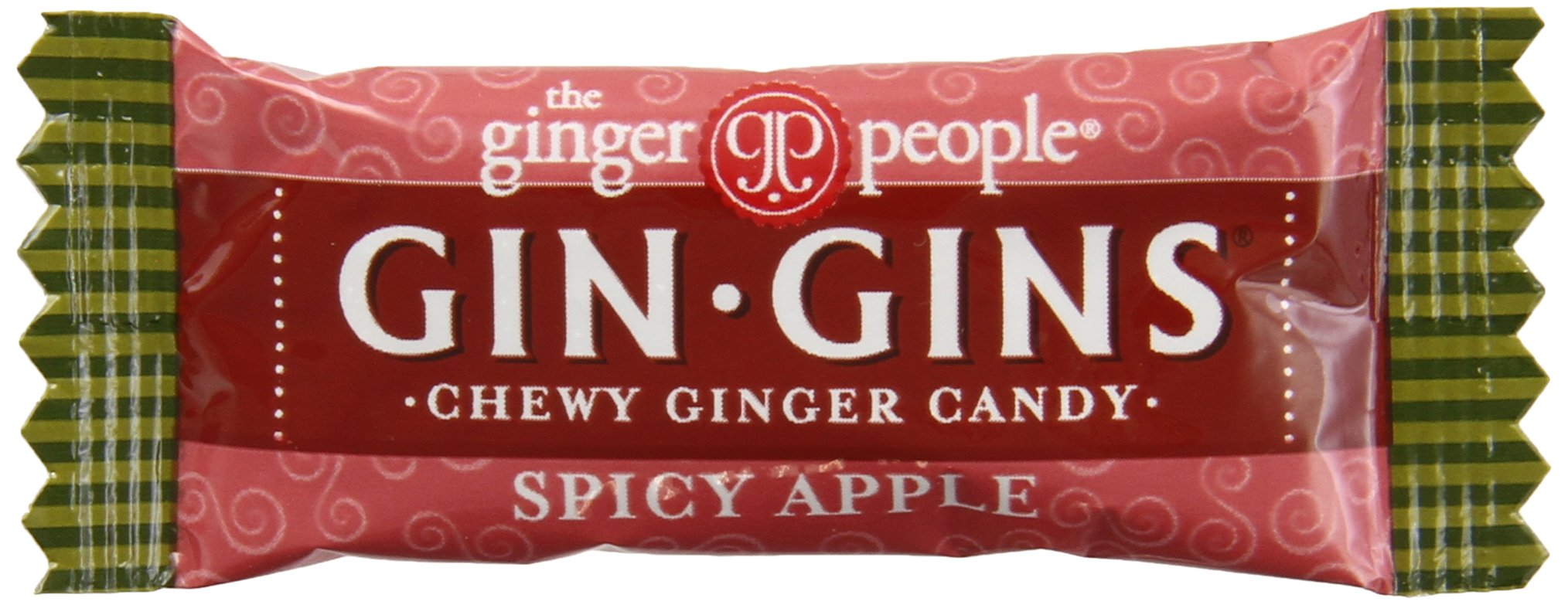 Gin Gins - The Ginger People Spicy Apple Ginger Chews, 11-Pound Bag by The Ginger People