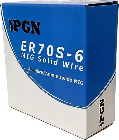 ER70S-6 .030 33 Lbs Spool PGN 0.8 mm Mild Steel MIG Welding Wire