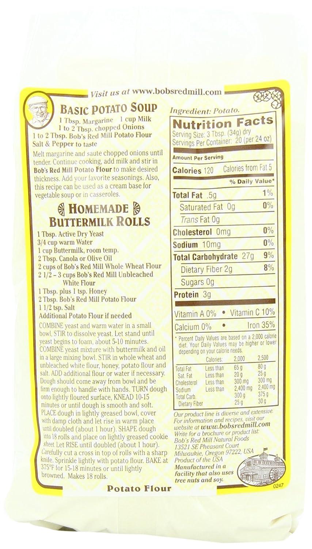 Harina de patata: Amazon.com: Grocery & Gourmet Food