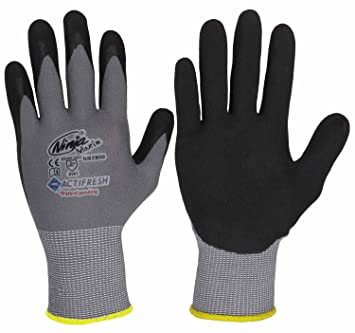 12 Paar Gr 9 Ninja Maxim Cool 34-872 Profi Montagehandschuhe Montage-Handschuhe