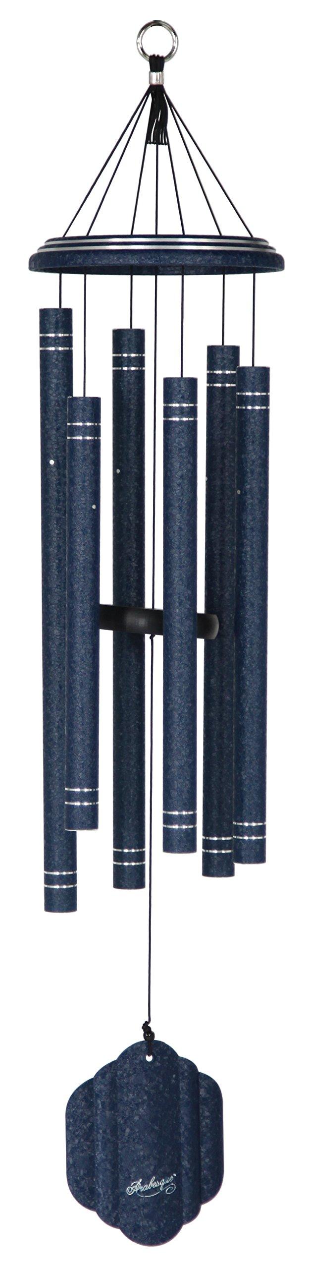 Arabesque 36-inch Windchime, Sapphire