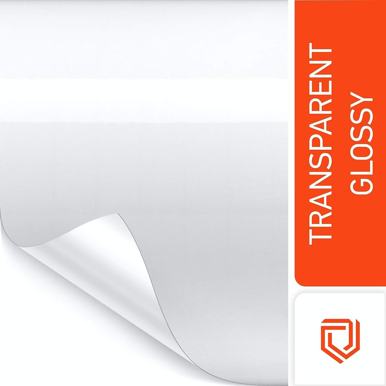 Luxshield Película de Protección de Pintura 20x100cm para Automóvil, Motocicleta, Bicicleta, Película Protectora Transparente, autoadhesiva, por Metros, de Alemania: Amazon.es: Coche y moto