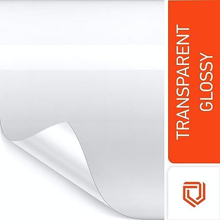 Luxshield Lackschutzfolie 30x300cm Für Auto Motorrad Bike Schutzfolie Transparent Selbstklebend Meterware Aus De Auto