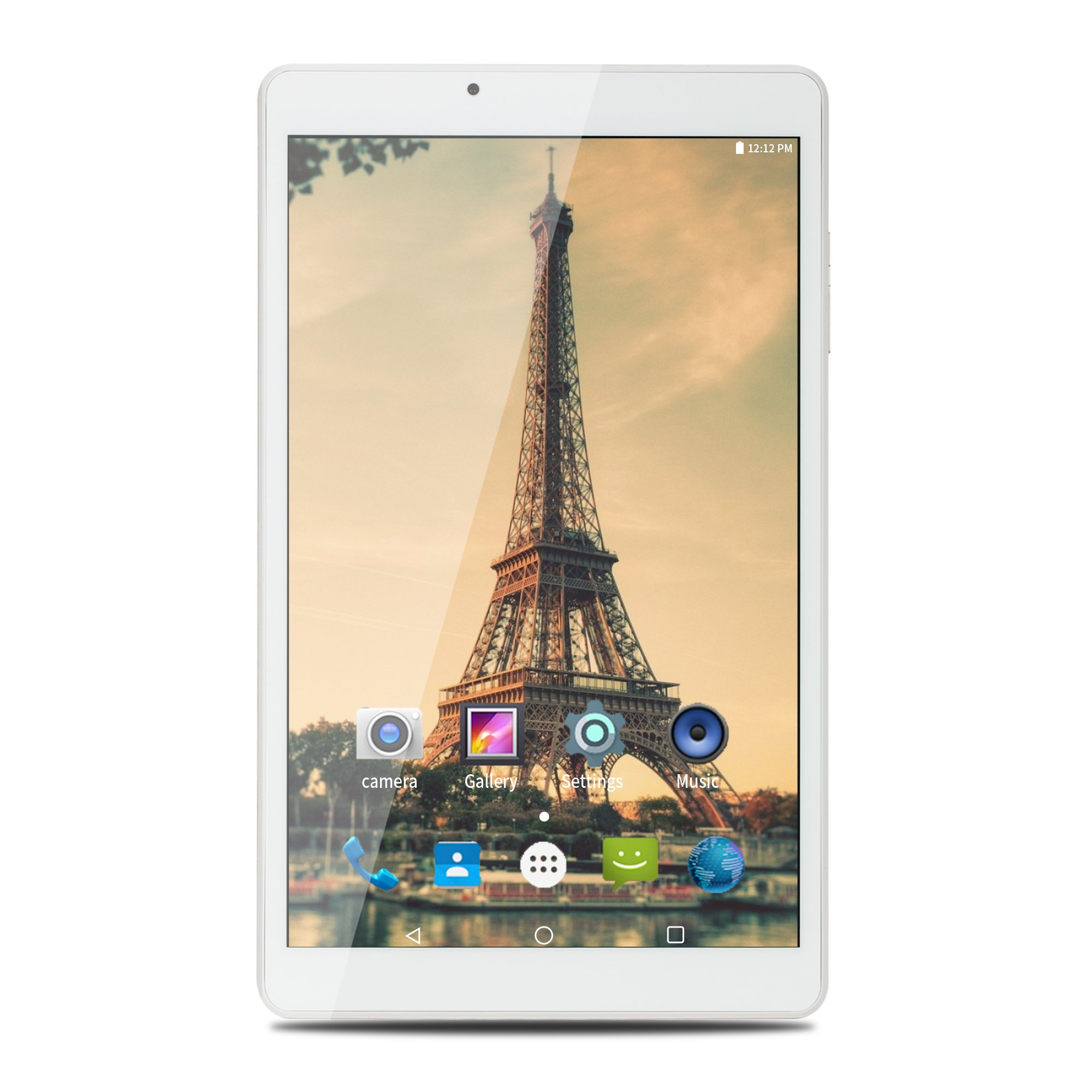 AOSON R103 10 Inch Tablet, Android 7.0 Nougat MTK Quad-core Processor, IPS 1280x800 Touch Screen, 2GB RAM 32GB Storage, 6000mAh, with Dual Camera Bluetooth 4.0 Wi-Fi GPS, GMS Certified, Golden rear