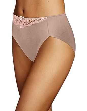 f35b2f785c75 Maidenform Comfort Devotion High Leg Brief at Amazon Women's Clothing store:
