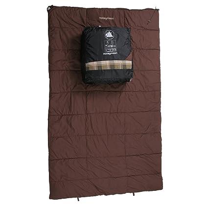 10T Outdoor Equipment 10T Honeymoon Saco de Dormir de Manta, Unisex, marrón, Estándar