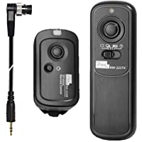 Pixel Wireless Remote Commander Shutter Release RW-DC0 Shutter Remote Release Control for Nikon Fujifilm Kodak Cameras…